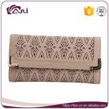 Кожаный бумажники элегантности для повелительниц, повелительницы Портмона способа 2 цветов для сбывания