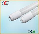 De LEIDENE Buis steekt het LEIDENE van het LEIDENE Glas van Lampen T8 Licht van de Buis voor de Betrouwbare Kwaliteit van de Markt van Azië aan,