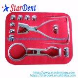 Zahnmedizinischer medizinischer Gummiverdammungs-Installationssatz/zahnmedizinische Instrumente