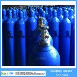 Fábrica de tanque de gás de oxigênio de aço inoxidável de alta pressão 40L ISO9809