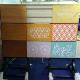 Het kleurrijke Valse Plafond van het Aluminium met het Onregelmatige Patroon van de Perforatie