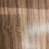 Cuoio di pattini di cuoio sintetico dell'unità di elaborazione della venatura del legno di durevolezza di morbidezza (HS-M313)