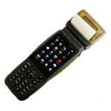 プリンターが付いている産業水平なタッチ画面手持ち型PDAのバーコードのスキャンナー