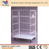 Faltbare Logistik-Stahllaufkatze für Lager-Speicher