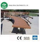 カスタマイズ可能な木製のプラスチック合成の庭のベンチ