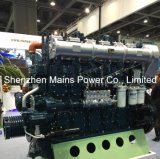 ボートのための1200HP 1000rpm Yuchaiのディーゼル海洋エンジンの手前側にあるモーター