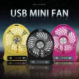 소형 휴대용 팬 USB 재충전용 냉각 손 팬