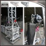 Venta caliente de la armadura de techo de aluminio con sistema elevador de cadena