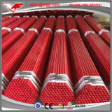 1/2inch-8inch赤の塗られ、溝を作られた消火活動ERWの炭素鋼の管
