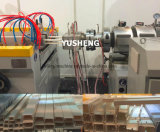 プラスチックはPVCケーブルの導通の生産のための生産ラインの側面図を描く