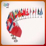 Kundenspezifische gedruckte Tisch-Markierungsfahnen aller Länder