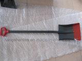 Landwirtschaftliche Hilfsmittel-russische Art-Stahlgriff-Schaufel-Spaten