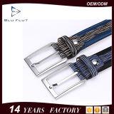 Form35mm Pin-Faltenbildung-echte Riss-Rindleder-Leder-Mann-Taillen-Riemen
