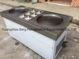 Singolo gelato piano del rullo della vaschetta di ghiaccio dell'acciaio inossidabile 304 che fa macchina