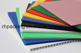 Natuurlijke pp Golf Plastic Raad Corflute voor van Japan de Witte 1220*2440mm 4mm Correx Coroplast Corflute Bladen van de Markt 1820*910mm/Opaque