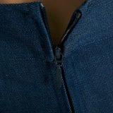 Vrouwen plus van de Grootte van het Denim het Long Pants Wide Been van Jean Flare