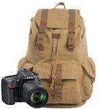Sacchetto della macchina fotografica di Digitahi della spalla della tela di canapa del cuoio del sacchetto del messaggero (RS-2138K)