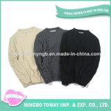 Camisola de lã de confeção de malhas dos homens da tela Handmade da alta qualidade