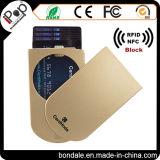盗難防止の小型札入れのプラスチック帯出登録者細いRFIDの札入れの箱の信用