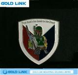 Regalo su ordinazione di promozione dell'emblema del randello del banco di Pin del risvolto del distintivo del metallo
