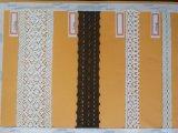 Hilo de algodón automatizado máquina del tejido del cordón