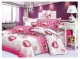 新しいデザインホテルの寝具の一定の多または綿の寝具はシーツをセットする