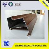 Perfis da liga de alumínio da alta qualidade para Windows de alumínio com superfície de madeira
