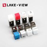 11mm*11mmの可聴周波およびビデオ製品のためのLEDによって照らされるちり止めの防水気転スイッチ