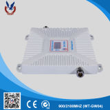 Servocommande de signal de téléphone mobile 3G du prix usine 900/2100MHz 2g pour la maison