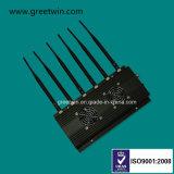 3G 4G WiFi bloqueador de sinal de GPS Bluetooth do dispositivo de localização por GPS Jammer (GW-JC6)