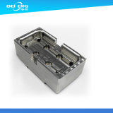 A fabricação presta serviços de manutenção ao CNC que mmói blocos do aço inoxidável, blocos de alumínio, peças de automóvel