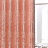 Wärmeisolierender Polyester-Jacquardwebstuhl-Stromausfall-Fenster-Vorhang (33W0051)