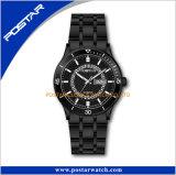 Montre-bracelet unisexe de 2017 de qualité de montres Suisses d'acier inoxydable