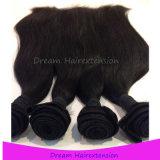 Волосы Remy оптовой девственницы верхнего качества естественной перуанские прямые