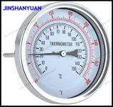 Bt-011 304ss 300 Boîtier en acier inoxydable en bas de l'huile de pression 837-1Connexion bride arrière 4 bars mini manomètre