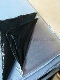 중국제 201 Siliver 색깔 실내 장식을%s PVC 필름을%s 가진 기름에 의하여 솔질되는 No. 4 스테인리스 장