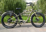 LCD 디스플레이를 가진 En 15194 지방질 타이어 전기 자전거