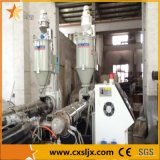 linea di produzione ondulata del tubo del PE doppio di plastica di drenaggio di 50-250mm