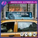 두 배 옆 무선 택시 지붕 LED 스크린 택시 발광 다이오드 표시