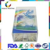Коробка фабрики оптовая прозрачная пластичная складывая для индикации продукта