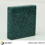 Surface solide solide acrylique pure et personnalisée pour comptoirs