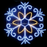 LED 훈장 눈송이 크리스마스 휴일 빛