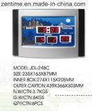 L'horloge de mur de DEL Digital dans le modèle chaud