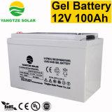 bateria do gel do UPS do armazenamento de 12V 100ah