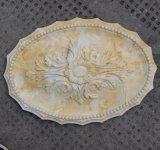 Polyurethan-längliche Decken-Medaillon PU-Decken-Dekoration Hn-Y005
