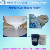Caoutchouc liquide à base de silicone étuvé en étain pour tampon en béton