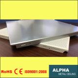 Алюминиевые металлические опоры маятниковой подвески ложных декоративные гофрированный композитный Clip в потолок