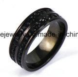 El acero inoxidable Multil de la joyería de Shineme empiedra el anillo de dedo (CZR2583)