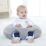 Het zachte Ronde Hoofdkussen van de Baby van de Pluche met het Katoen van pp