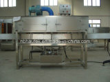 Vaso de Agua Mineral Insertar el manguito de PVC automático y de la máquina de etiquetado